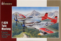 F-82H Twin Mustang Alaskan All-Weather Fighter, 1:72