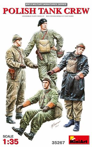 Polish Tank Crew, 1:35 (pidemmällä toimitusajalla)