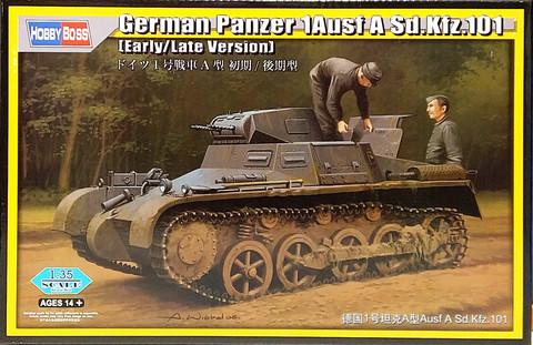 German Panzer I Ausf. A Sd.Kfz.101 (Early/Late Version), 1:35 (pidemmällä toimitusajalla)