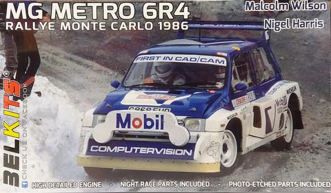 MG Metro 6R4 Rallye Monte Carlo 1986, 1:24 (pidemmällä toimitusajalla)