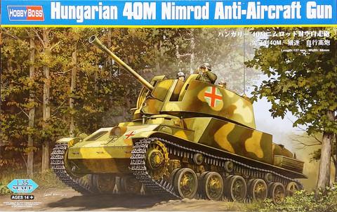 Hungarian 40M Nimrod Anti-Aircraft Gun, 1:35 (pidemmällä toimitusajalla)