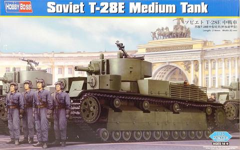 Soviet T-28E Medium Tank, 1:35 (pidemmällä toimitusajalla)