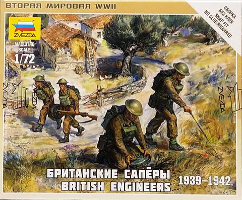 British Engineers 1939-1942, 1:72 (pidemmällä toimitusajalla)