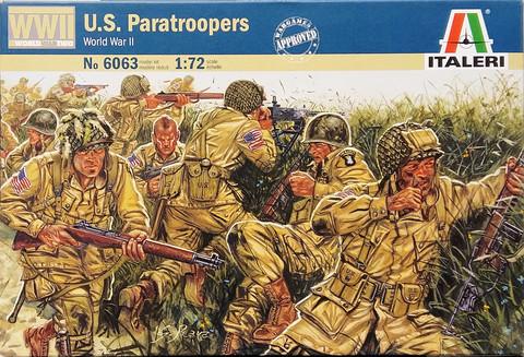 U.S. Paratroopers, 1:72