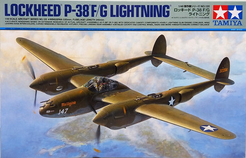 Lockheed P-38 FG Lightning, 1:48