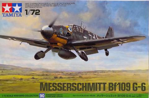 Messerschmitt Bf109 G-6, 1:72 (pidemmällä toimitusajalla)