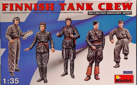Finnish Tank Crew 1:35