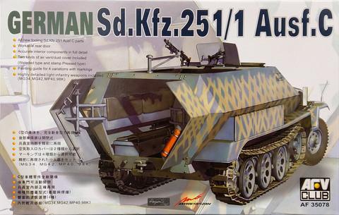 Sd.Kfz.251/1 Ausf.C, 1:35 (pidemmällä toimitusajalla)