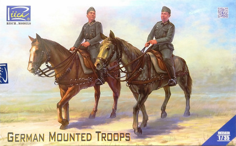 German Mounted Troops, 1:35
