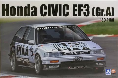 Honda Civic EF3 Gr.A '89 PIAA, 1:24 (pidemmällä toimitusajalla)