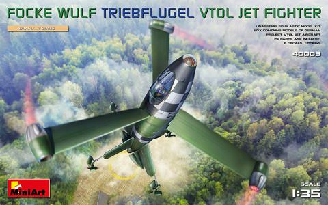 Focke-Wulf Triebflügel Vtol Jetfighter, 1:35