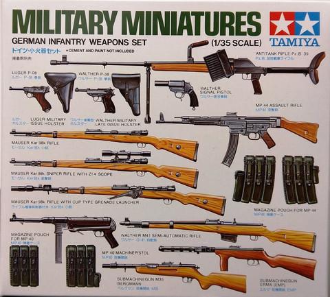 German Infantry Weapons Set, 1:35