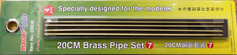 Brass Pipe Set 20cm
