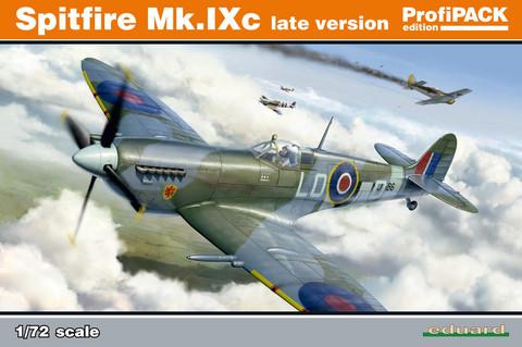 Supermarine Spitfire Mk.Ixc Late Version ProfiPACK, 1:72