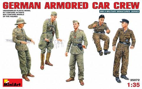 German Armored Car Crew, 1:35
