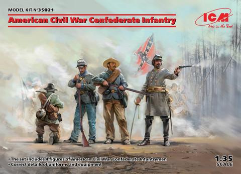 American Civil War Confederate Infantry, 1:35 (pidemmällä toimitusajalla)