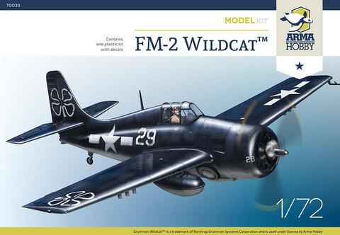 FM-2 Wildcat, 1:72 (pidemmällä toimitusajalla)