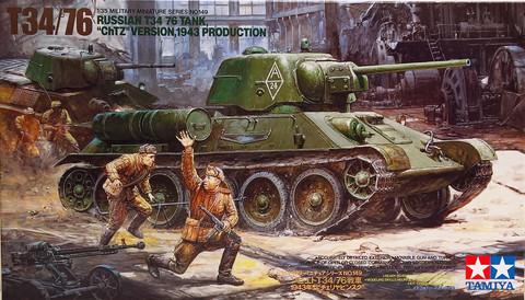Russian T34/76 ChTZ Version 1943, 1:35 (pidemmällä toimitusajalla)