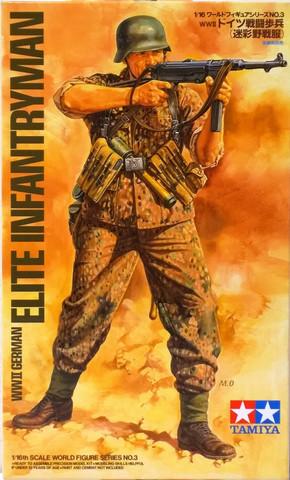 WWII German Elite Infantryman, 1:16
