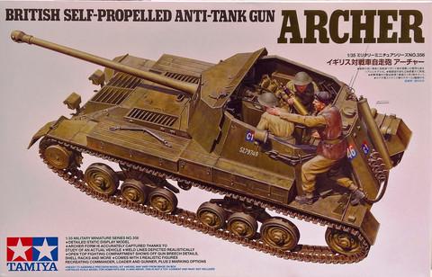 British Self-Propelled Anti-Tank Gun Archer, 1:35 (pidemmällä toimitusajalla)