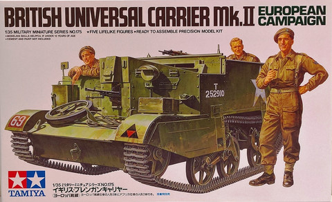 Universal Carrier Mk.II European Campaign, 1:35