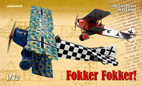 Fokker Fokker Limited Edition Dual Combo, 1:72