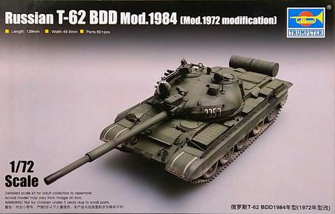 Russian T-62 BDD Mod.1984 (Mod.1972 Modification), 1:72