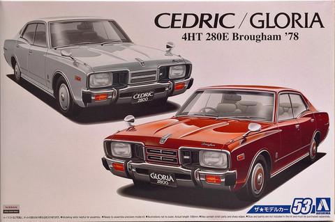 Nissan Cedric / Gloria P332 4HT 280E '78, 1:24 (pidemmällä toimitusajalla)