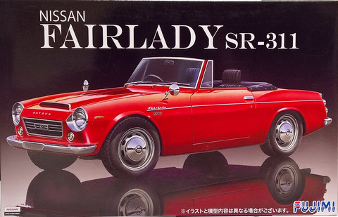 Nissan Fairlady SR-311, 1:24