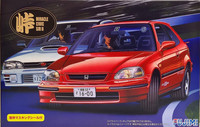 Honda Civic SiR II, 1:24