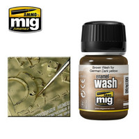 Brown Wash for German Dark Yellow 35ml