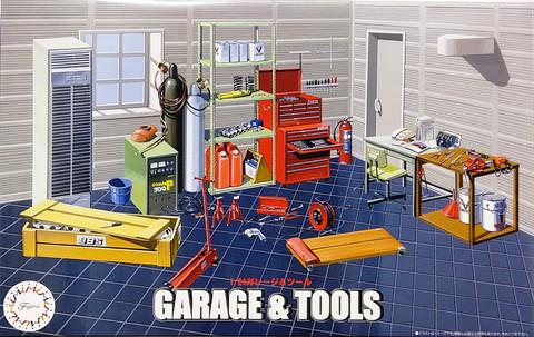 Garage & Tools, 1:24