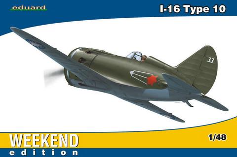 I-16 Type 10, 1:48 (pidemmällä toimitusajalla)