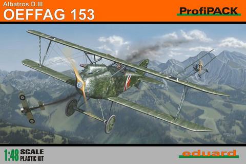 Albatros D.III Oeffag 153 ProfiPACK, 1:48 (pidemmällä toimitusajalla)