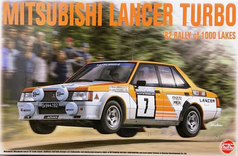 Mitsubishi Lancer Turbo '82 Rally of 1000 Lakes, 1:24