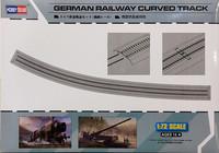 German Railway Curved Track, 1:72