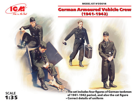 German Armoured Vehicle Crew (1941-1942), 1:35