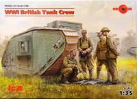 WWI British Tank Crew, 1:35