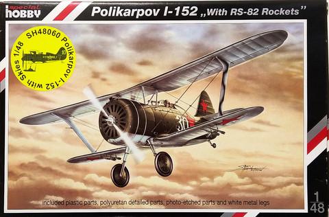 Polikarpov I-152 with Skies, 1:48