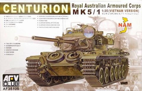 Centurion Mk.5/1 Royal Australian Armoured Corps, 1:35 (pidemmällä toimitusajalla)