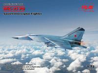 MiG-25 PD, Soviet Interceptor Fighter, 1:72 (Pidemmällä toimitusajalla)