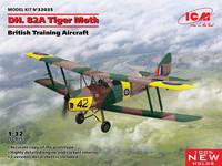 D.H. 82A Tiger Moth, British Training Aircraft, 1:32 (Pidemmällä toimitusajalla)