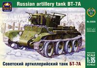 Russian artillery light tank BT-7A, 1:35