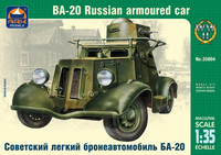 BA-20 Russian Armoured car, 1:35