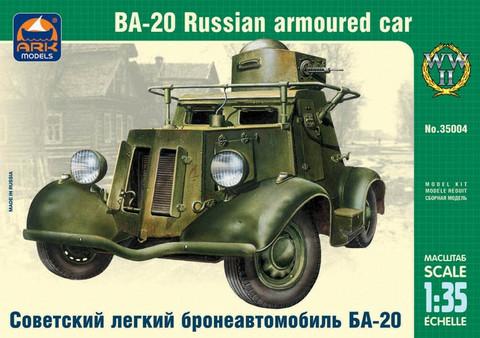 BA-20 Russian Armoured car, 1:35 (pidemmällä toimitusajalla)
