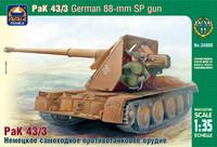 Pak 43/3 88mm Self-propelled gun, 1:35