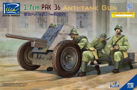 3,7 cm PaK 36 Anti-Tank Gun, 1:35 (pidemmällä toimitusajalla)
