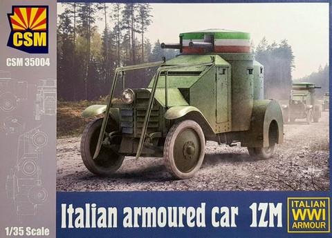 Italian Armoured Car 1ZM, 1:35 (pidemmällä toimitusajalla)