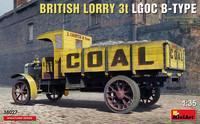 British Lorry LGOC 3t B-Type, 1:35 (Pidemmällä toimitusajalla)