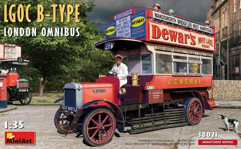 LGOC B-Type London Omnibus, 1:35 (Pidemmällä toimitusajalla)